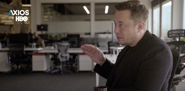 Илон Маск дал интервью Axios на HBO о смертельной опасности использования ИИ в робототехнике