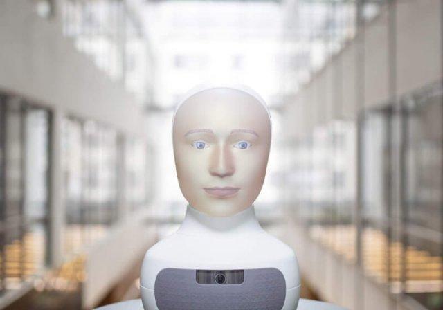 Furhat - первый социальный робот с реалистичным человеческим лицом