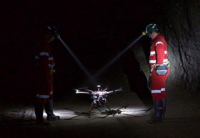 Стартап Emesant из Австралии представил дрон для сбора данных под землей