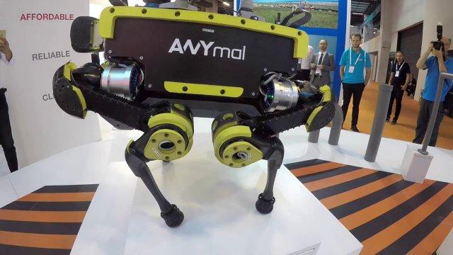 ANYbotics внедряет робота ANYmal для анализа систем на морских энергодобывающих платформах