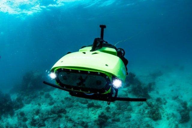Подводный робот LarvalBot для спасения коралловых рифов