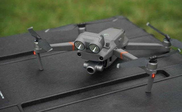 DJI выпустила беспилотник в помощь спасателям Mavic 2 Enterprise