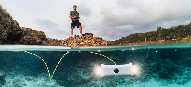 National Geographic и OpenROV дарят 1000 подводных дронов для исследователей океана