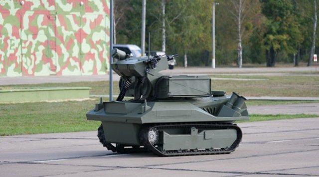 Роботизированный огневой комплекс «Берсерк» представили в Беларуси