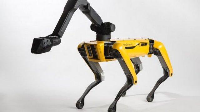 Boston Dynamics дает роботу Spot первую серьезную работу на стройплощадке