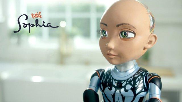 Little Sophia – новая игрушечная модель робота Sophia скоро появится в продаже