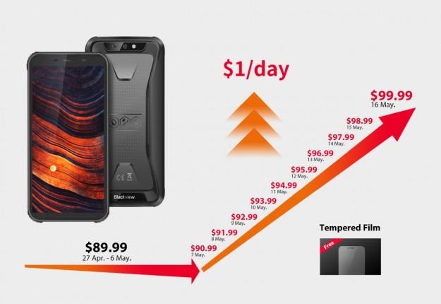 Возможности нового защищенного смартфона Blackview BV5500 Pro показали на видео