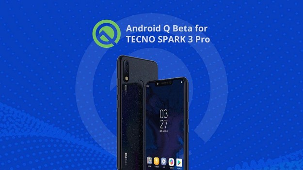 Официально: TECNO Mobile обновит Spark 3 Pro до Android Q Beta