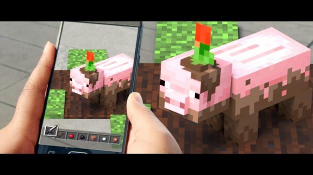 Microsoft посягнула на лавры Pokemon Go. На смартфоны придёт мобильный Minecraft с дополненной реальностью