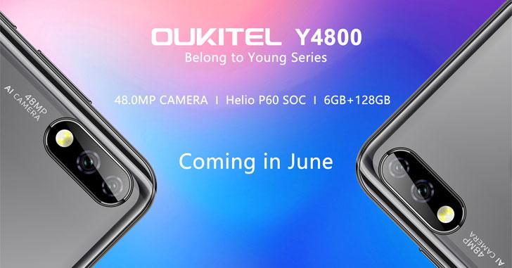 Oukitel Y4800 получит 48-мегапиксельную камеру