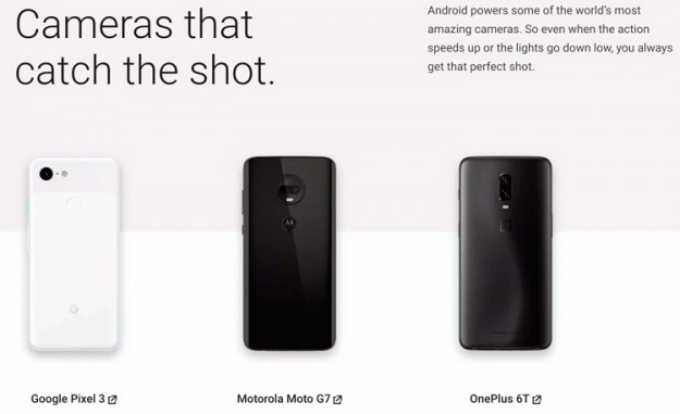 Google очистила сайт Android.com от упоминаний смартфонов Huawei