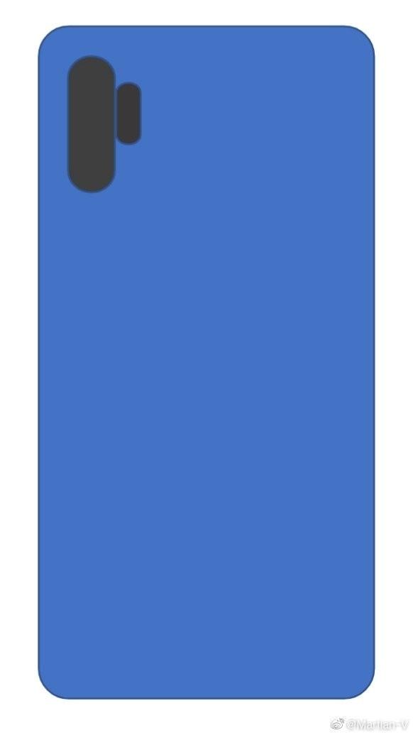 Samsung Galaxy Note 10 может получить камеру в стиле Huawei P30 Pro