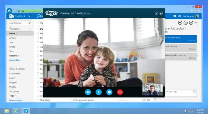 Самый популярный сервис для видеосвязи Skype