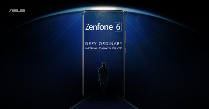Тизер ASUS Zenfone 6 намекает на выдвижную фронталку?