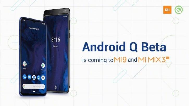 Флагман Redmi получит Android Q Beta вслед за Mi 9 и Mi Mix 3 5G