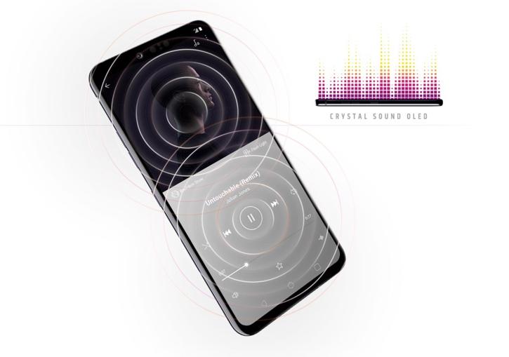 Разборка LG G8 ThinQ: много клея, Crystal Sound-экран (видео)