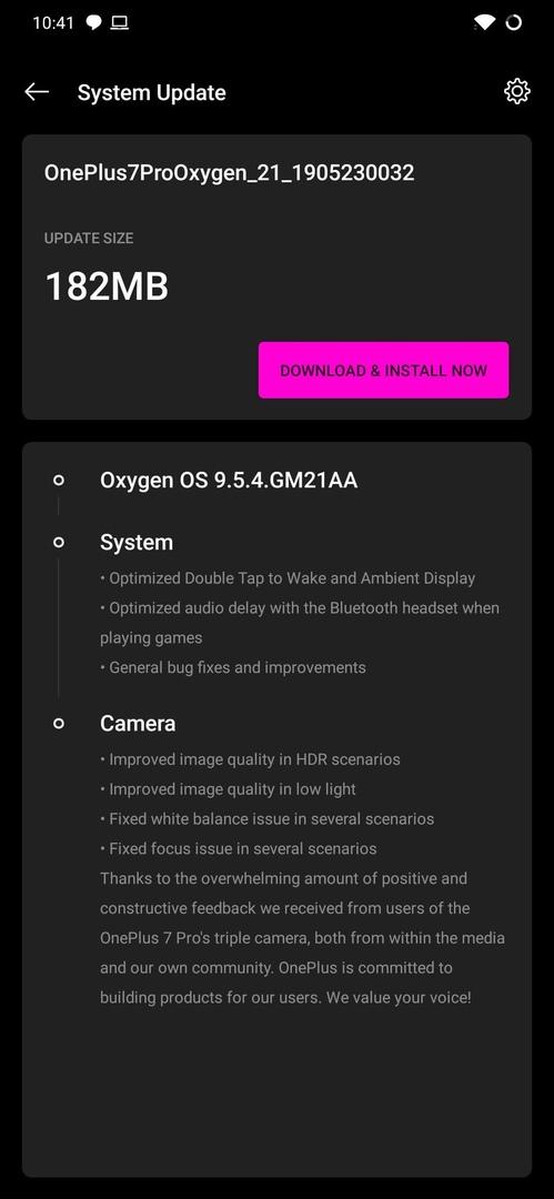 OnePlus 7 Pro получил большое обновление для камеры