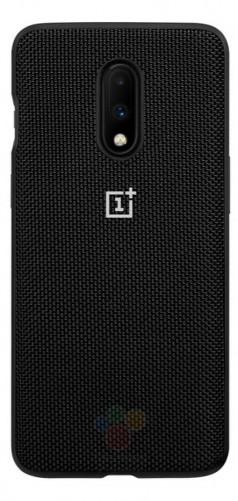 Рендеры OnePlus 7 и OnePlus 7 Pro в официальных чехлах трех видов