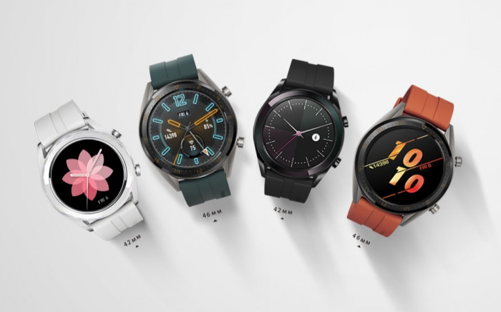 Предзаказ на Huawei Watch GT Active и Elegant Edition в России (цена)