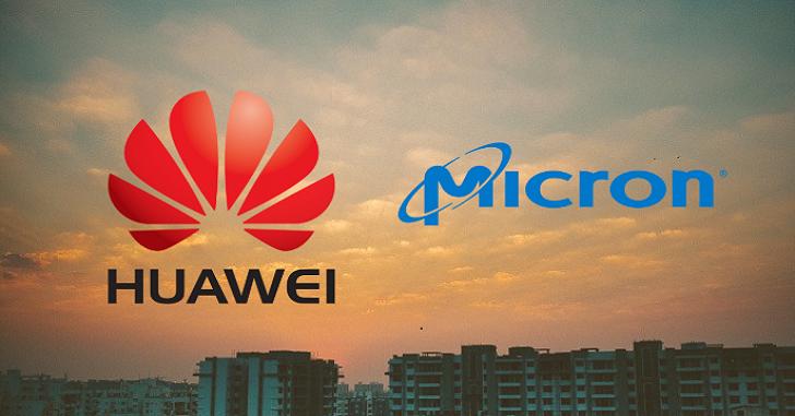 Micron и Foxconn прекращают сотрудничать с Huawei
