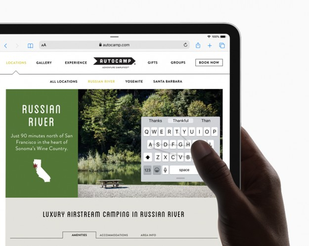 Анонс iPadOS – строго ориентированная на планшеты система Apple