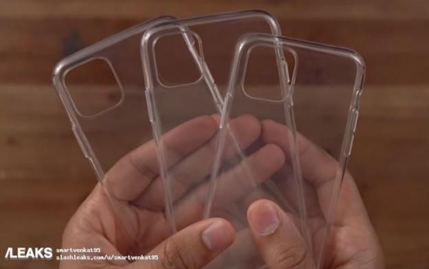 «Живые» фотографии чехлов подтверждают наличие новых камер в iPhone 2019