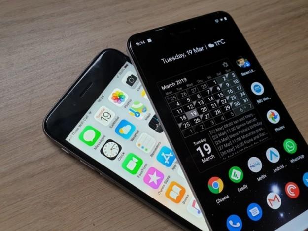 Google научила Android совместной работе с iOS