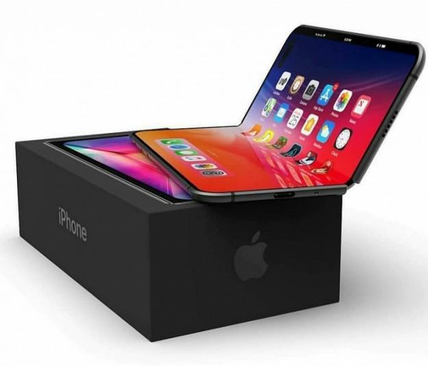 Рендеры демонстрируют возможный дизайн складного смартфона iPhone X Fold