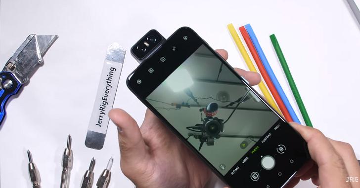 Стресс-тест камеры ASUS ZenFone 6