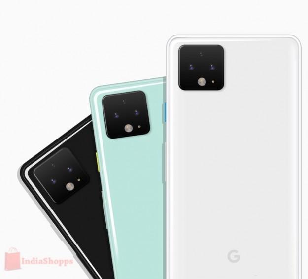Концепт-рендеры Google Pixel 4 XL в трех цветах