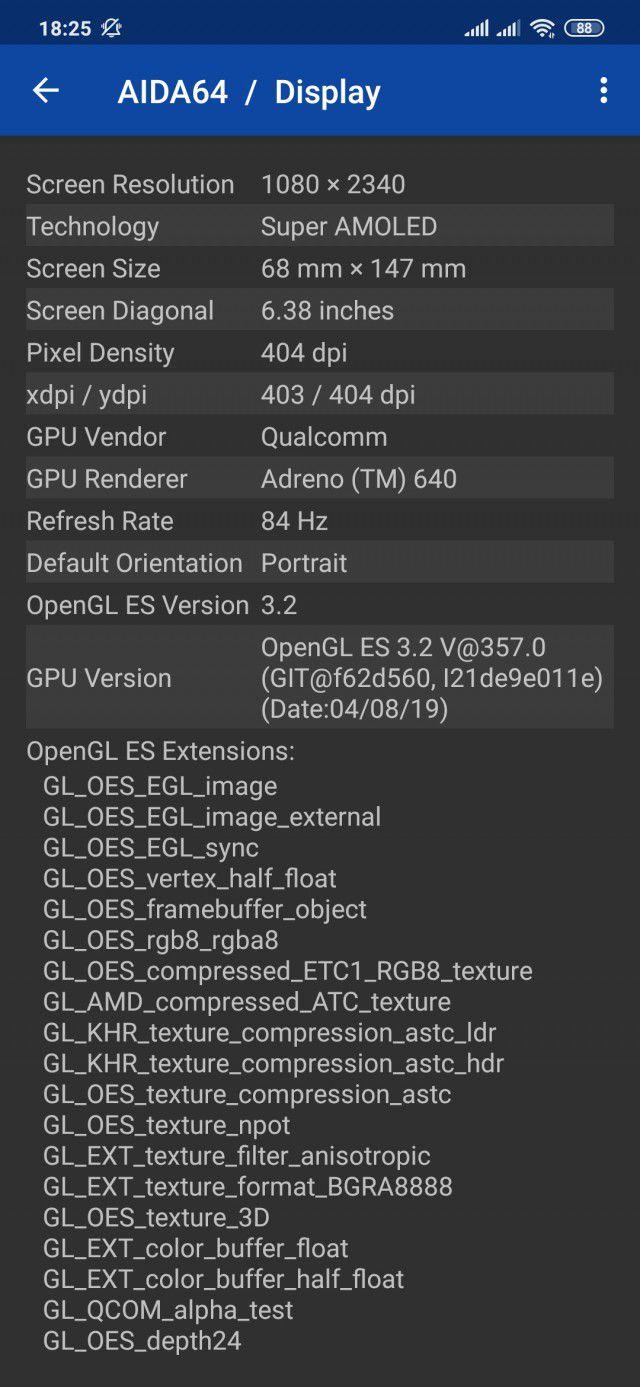Как повысить частоту обновления экрана Xiaomi Mi 9 самому