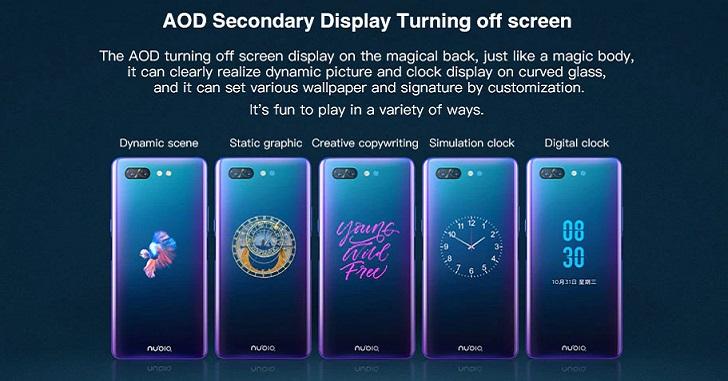 Nubia X с двумя экранами получил поддержку 5G