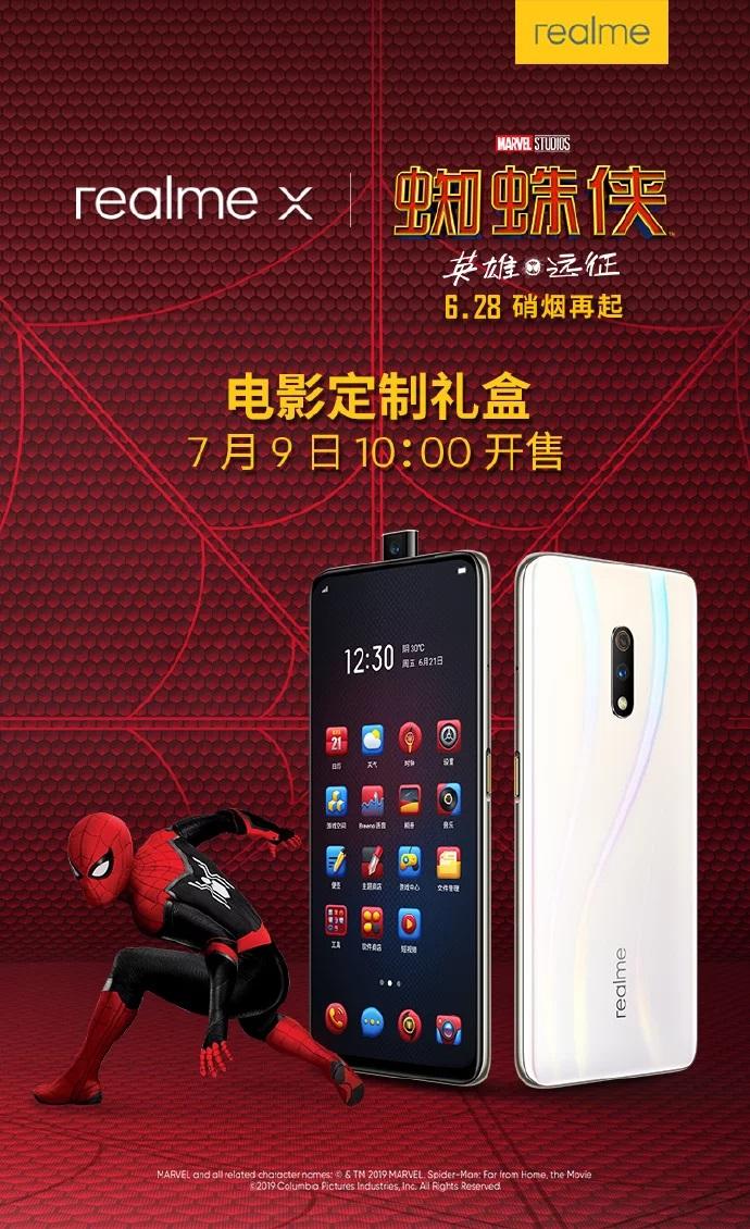 Realme X и человек-паук уничтожат Xiaomi Redmi Note 7 Pro