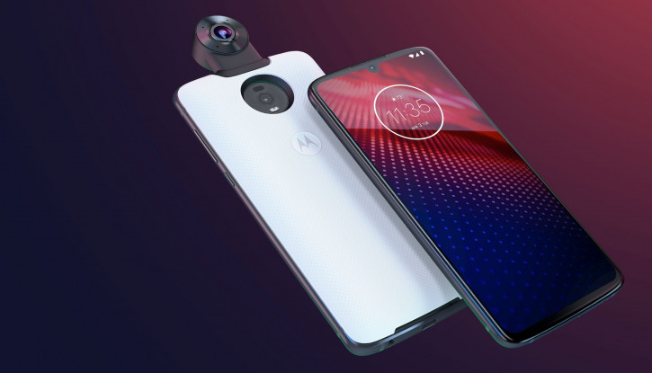 Анонс Motorola Moto Z4: крепкий середняк со сканером в экране и 3,5 мм