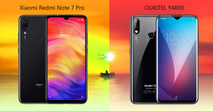 Oukitel сравнила Y4800 с хитовым Redmi Note 7 Pro: кто кого?