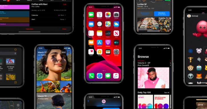 Полный список устройств, которые получат iOS 13