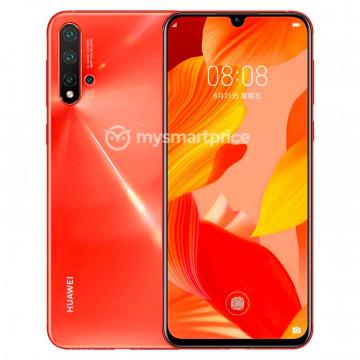 Рендеры Huawei Nova 5 Pro в четырех цветах