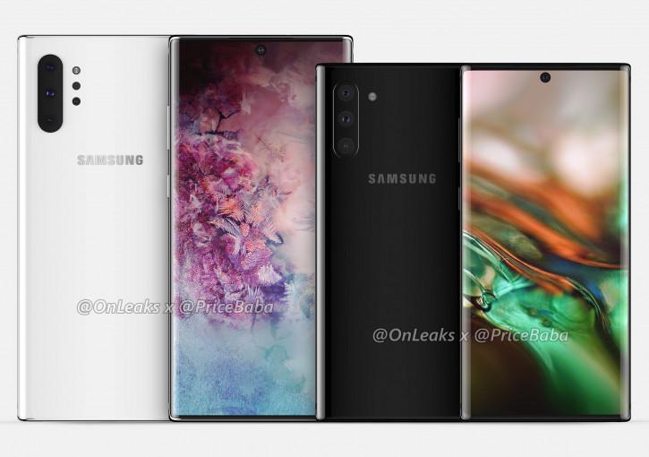 Предполагаемая дата анонса Samsung Galaxy Note 10 и Note 10 Pro