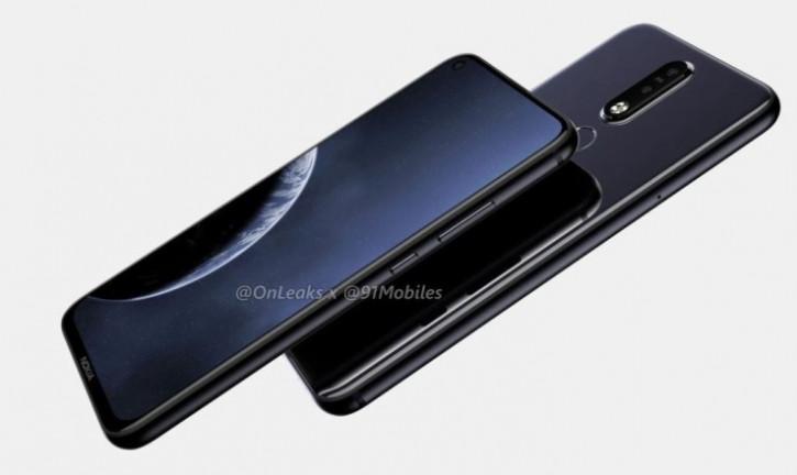 Российская цена Nokia 6.2, безрамочника с камерой в экране