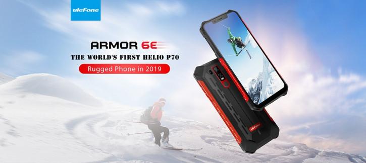 Ulefone Armor 6E на треть дешевле в эти выходные в Gearbest