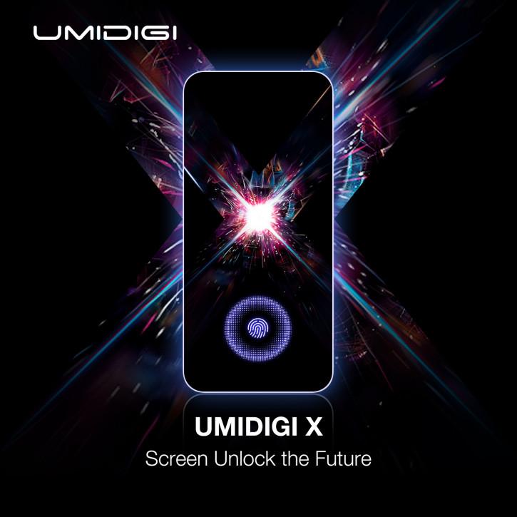UMIDIGI X станет самым доступным смартфоном со сканером в экране