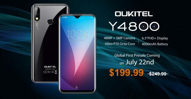 OUKITEL Y4800 и Xiaomi Redmi Note 7 Pro сравнили в тесте на автономность