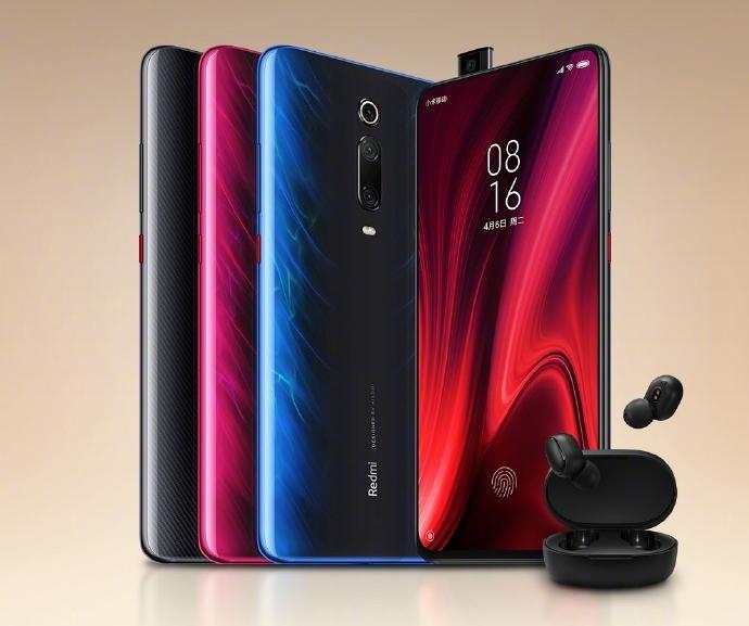 Покупатели Xiaomi Redmi K20 получат в подарок беспроводные наушники Redmi AirDots