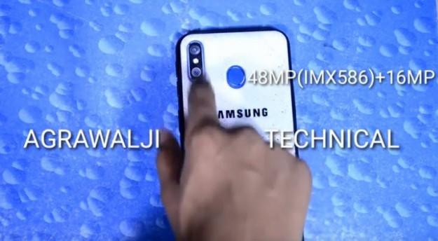 Samsung Galaxy M60 засняли вживую