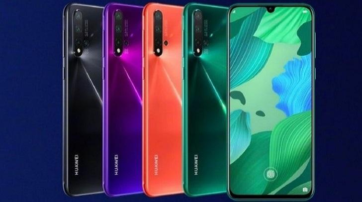 Рассекречены характеристики Huawei Nova 5i Pro