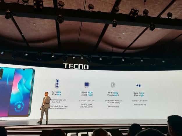 В Нью-Дели состоялась премьера камерафона Phantom 9 от TECNO Mobile