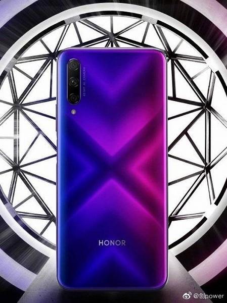 Honor 9X Pro с градиентной тыльной панелью впервые позирует на официальном изображении