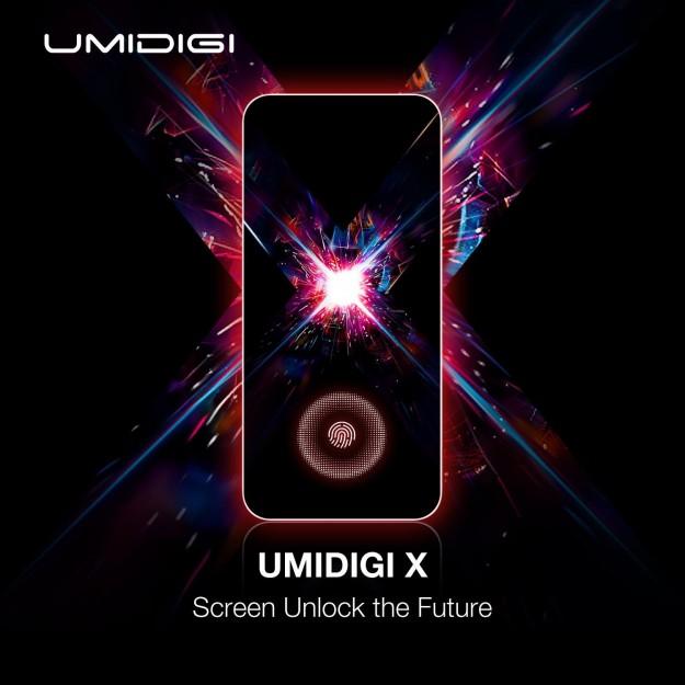 UMIDIGI представит нового короля соотношения цены и качества с отпечатком пальцев на экране и 48 мп AI камерой!