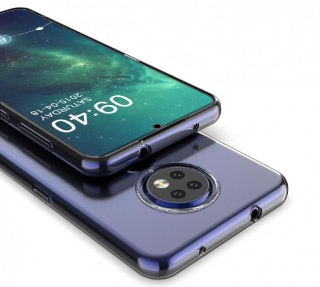 Рендеры «сорвиголовы» Nokia 7.2 в защитном чехле