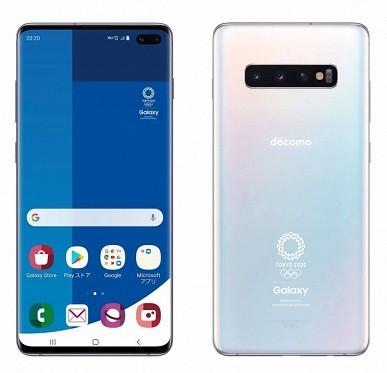 Смартфон Samsung Galaxy S10+ Olympic Games Edition появится в продаже ровно за год до самих Олимпийских игр